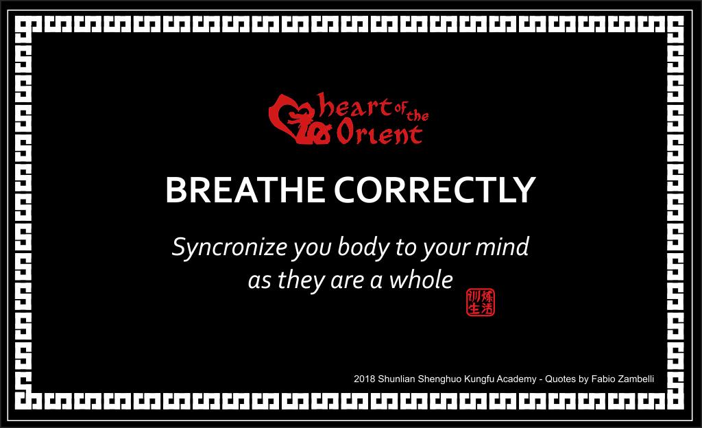 Breathe Correctly