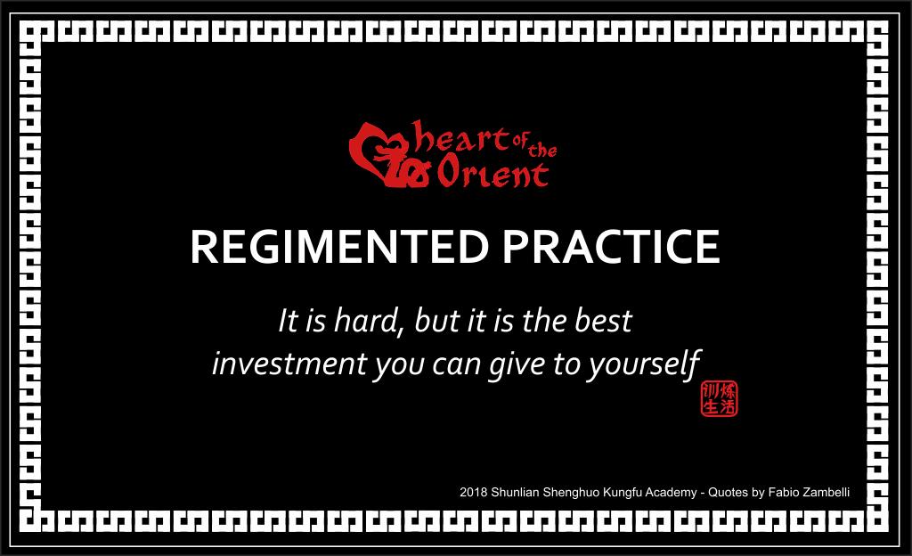 Regimented Practice