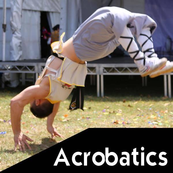 Martial arts explained - Acrobatics