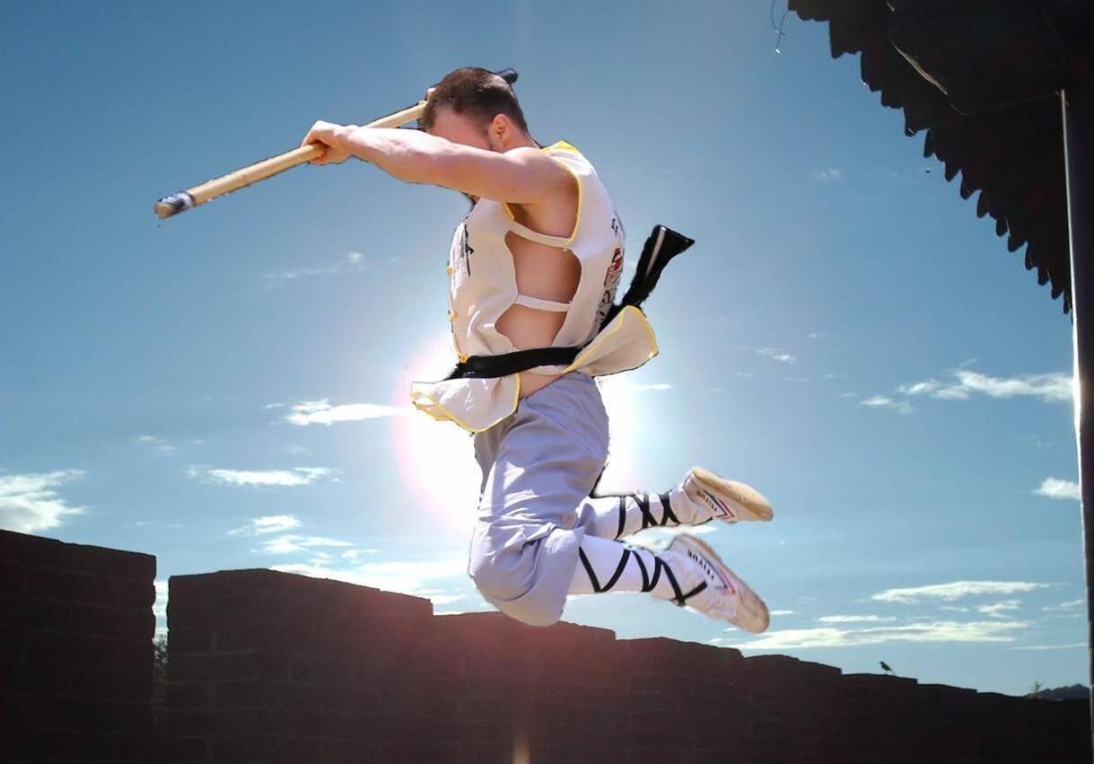 Shaolin Long Staff Form - Yin Shou Gun