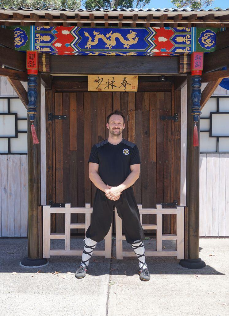 Shifu Fabio Zambelli at Heart of The Orient Dojo
