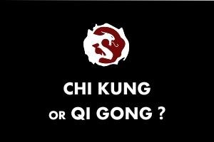 Chi kung or Qi gong