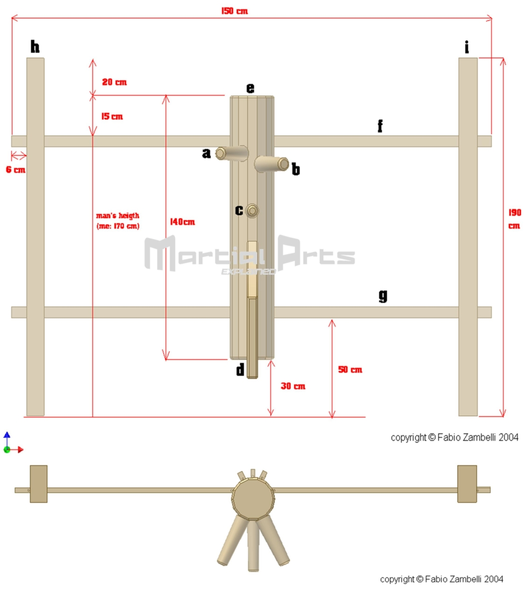 Wooden Dummy Instructions