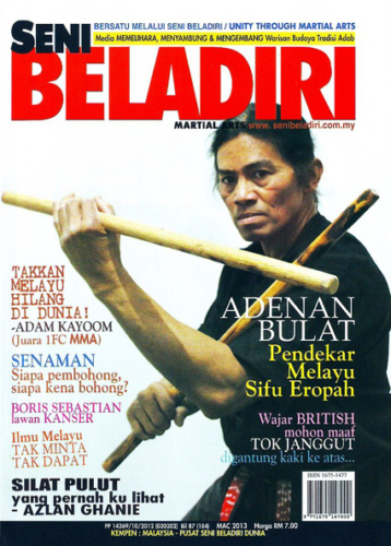 Malay silat Adenan Jack Bulat Martial Arts Explained 6