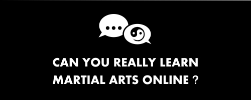 can you really learn martial arts online