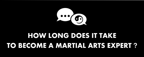 how long does it take to become a martial arts expert