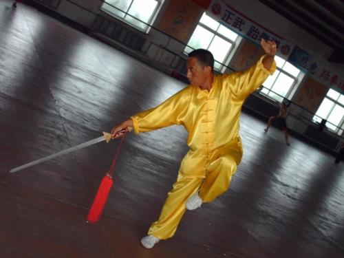 Lin Shifu Lin Jin Rong Baji Master China 4