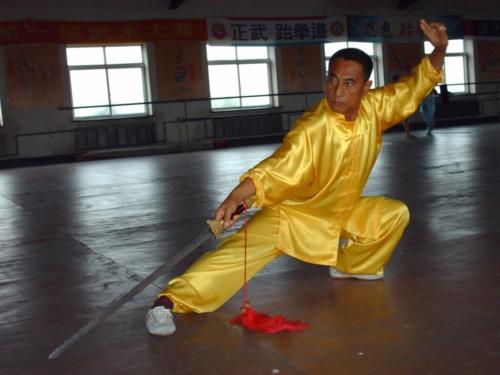 Lin Shifu Lin Jin Rong Baji Master China 6